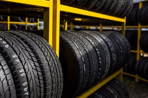 45397355 - tires for sale at a tire store